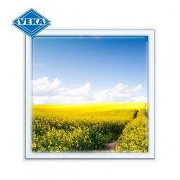 Окно ПВХ Veka 600х600 мм одностворчатое Г 3 стеклопакет