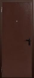 Металлическая дверь Стройка, Йошкар-Ола, 860*2050, миланский орех