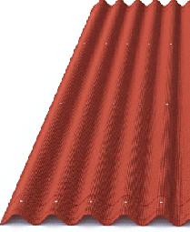 Ондулин Лист Смарт 950х1950 красный