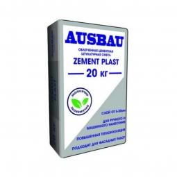 Штукатурка Ausbau PLAST ZEMENT цементная 20 кг
