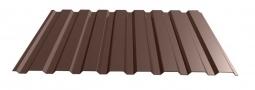 Профнастил МП-20 RAL 8017 шоколад 1100х0.35