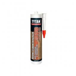 Клей строительный Tytan для панелей и молдингов №910 белый 440г