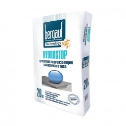 Гидроизоляция Bergauf Гидростоп цементная обмазочного типа 20кг