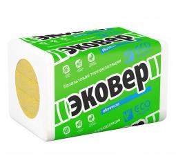 Базальтовый утеплитель Эковер Вент Фасад 80 1000х600х50