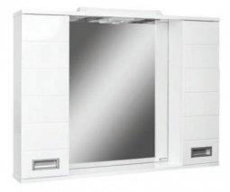 Шкаф-зеркало Домино Cube 100 с электрикой DC5013HZ