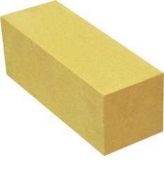 Кирпич лицевой силикатный Желтый одинарный полнотелый евро