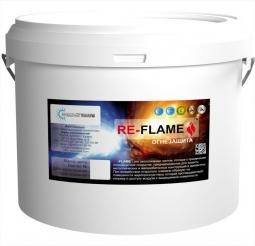 Огнезащитное сверхтонкое полимерное покрытие RE-FLAME, 10 кг