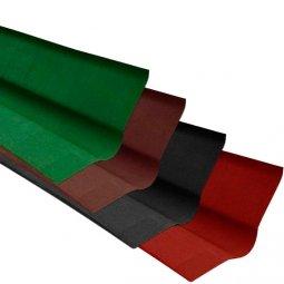 Ендова Ондулин красный длина - 1м, полезная длина 0,85 м
