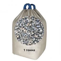 Щебень Гранитный фракция 5-20 в МКР, 1000 кг