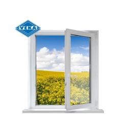 Окно ПВХ Veka 600х600 мм одностворчатое ПО 2 стеклопакет