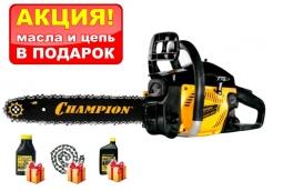 Бензопила Champion 240-16 + подарочный набор