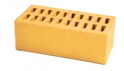 Кирпич лицевой керамический Светло-жёлто-бежевый