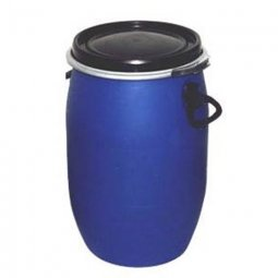 Бочка Тара пластиковая с крышкой на обруч 65 литров