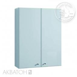 Шкаф Aquaton Симпл 124-3 2 створчатый подвесной