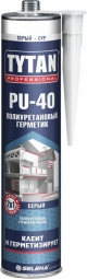 Герметик Tytan полиуретановый PU 40 серый 310мл