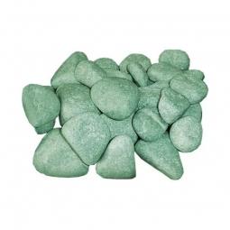 Камень для бани ХакасИнтерСервис Пироксенит «Черный принц» шлифованный средний ЗЖ, 10кг
