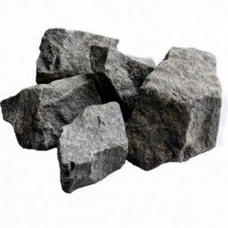 Камень для бани Банный Эксперт Порфирит колотый в коробке 20 кг