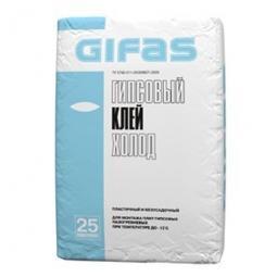 Клей Gifas Холод гипсовый 25 кг