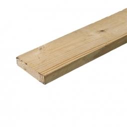 Доска обрезная строительная 25x125x6000