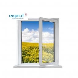 Окно ПВХ Exprof 600х600 мм одностворчатое ПО 1 стеклопакет