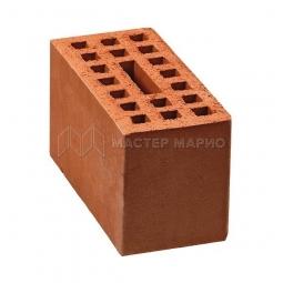 Кирпич рядовой керамический пустотелый двойной
