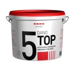 Шпатлевка готовая Danogips DanoTop 5 финишная 5.6 кг